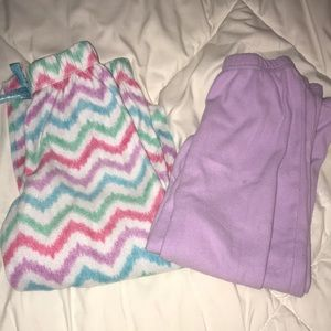 Two Pair of Pajama Bottoms ❤️5 for $25❤️